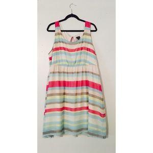Torrid Pastel Striped Sundress